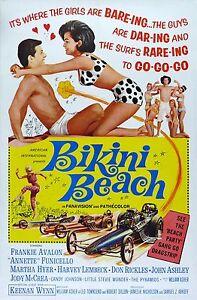034-bikini-spiaggia-034-FRANKIE-AVALON-classico-Teen-POSTER-DEL-FILM
