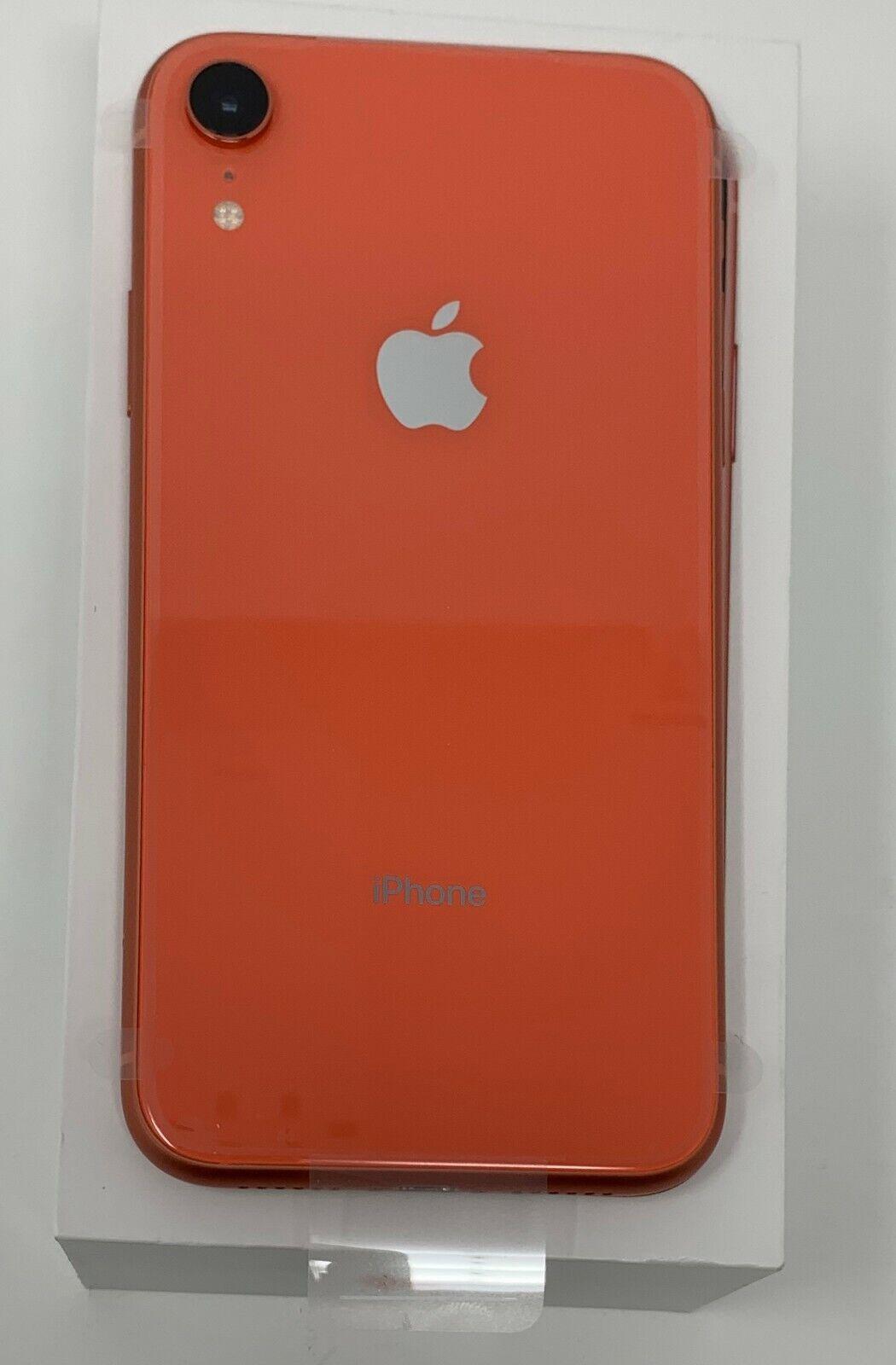 OB Apple iPhone XR 128 GB Coral-GSM+CDMA Unlocked