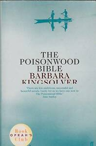 THE POISONWOOD BIBLE Barbara Kingsolver ~ SC 2000 Perth Region Preview
