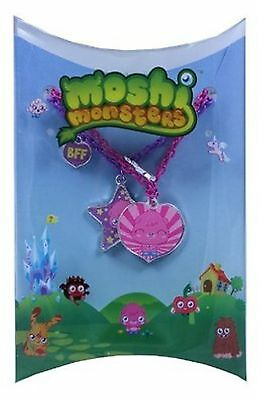 12 Licensed Moshi Monsters Chain Best Friends Necklaces Party Bag (Best Party Bag Fillers)