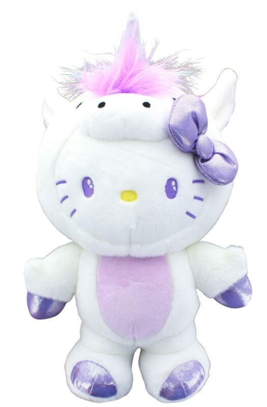 "Hello Kitty Unicorn 9.5"" Plush"