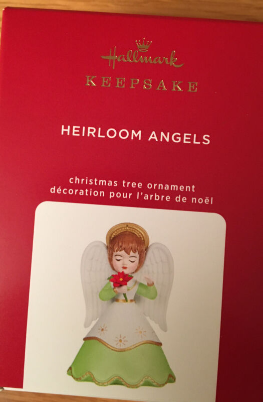 Hallmark Heirloom Angels. 2020. 5th In the Series.  Fast Free Ship