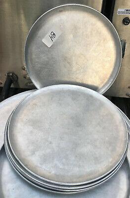 Aluminum Pizza Pan 10 Tray Plate Pie Platter