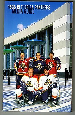 1998 99 Florida Panthers Nhl Hockey Media Guide
