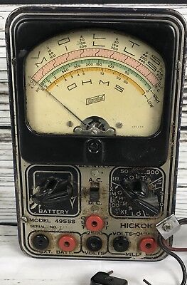 1930s Hickok Volt-ohm-milliampre-meter 4955s