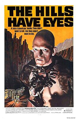 US SELLER, home decor  hills have eyes  horror sci-fi movie poster