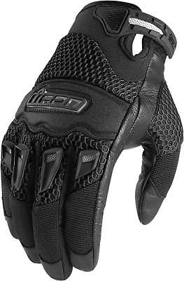 Summer Motorcycle Gloves (Icon Twenty-Niner CE Gloves - Motorcycle Street Riding Textile Mens)