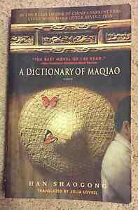 A Dictionary of Maqiao - Jan Shaogong