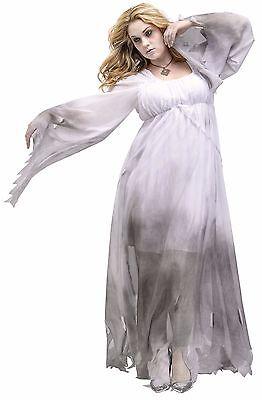 Damen Gotik Mittelalter Geist Halloween Outfit - Alte Kostüm Geist