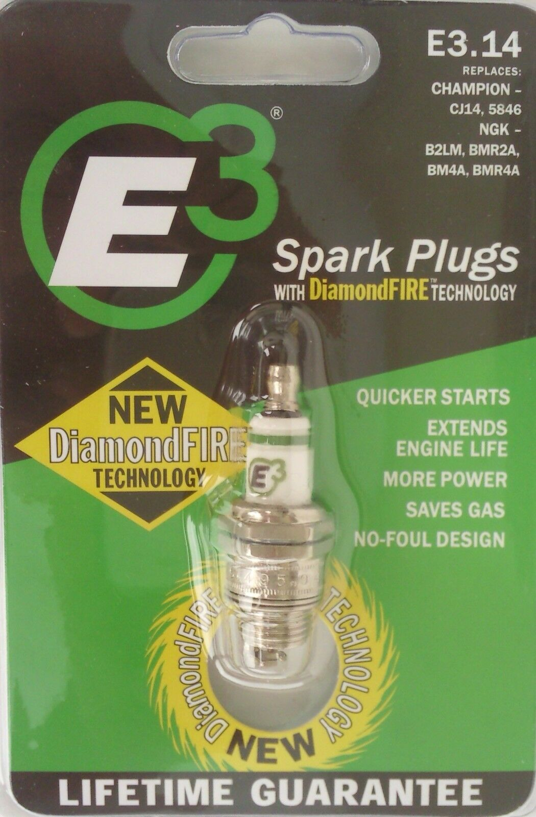 14 spark plug quick start replaces cj14