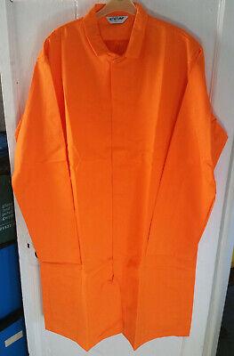 "Men's Orange Lab / Warehouse Coat – 124cm (48"") Tall"