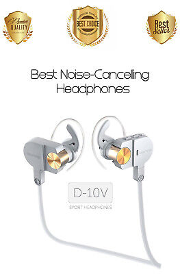 Bluetooth Headphones Noise Cancelling Wireless Earbuds Earphones Bass Headset