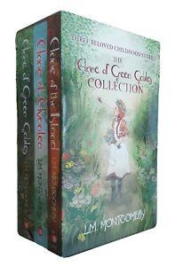 Anne of Green Gables 3 Book Box Set L M Montgomery Avonlea Island Fiction  New
