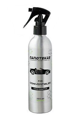 Waterproof Nano Vinyl Coating For Convertible Cabrio Roof Hydrophobic Spray 250
