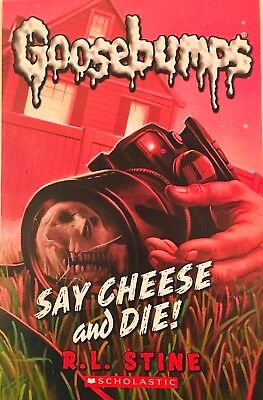 """New Goosebumps Mini Halloween Poster """"SAY CHEESE AND DIE!"""""""