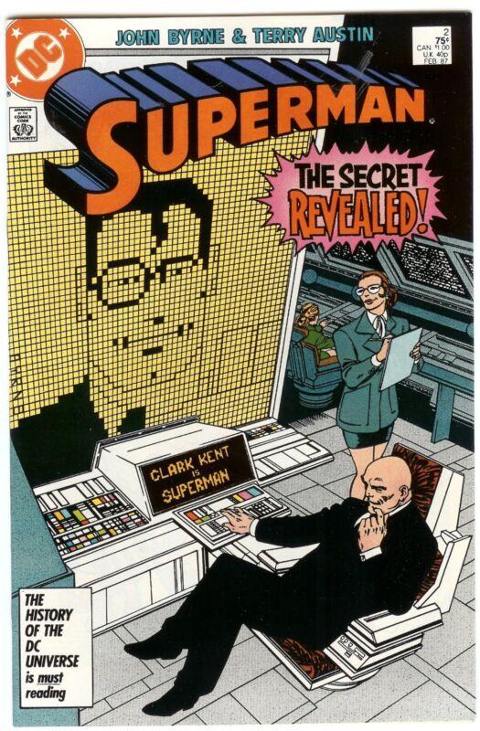 Superman #2 (Feb 1987, DC)