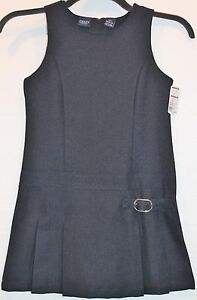 Chaps-by-Ralph-Lauren-Navy-Blue-School-Uniform-Dress-Jumper