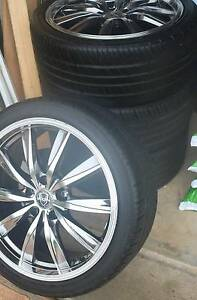 18inch rims and tyres Glenwood Blacktown Area Preview