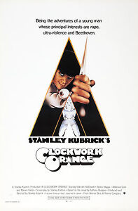 Clockwork Orange - HUGE Movie Poster (Size: 27'' x 40'')