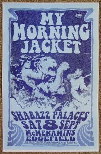 MY MORNING JACKET 2012 Gig POSTER Edgefield Portland Oregon Concert Version 1
