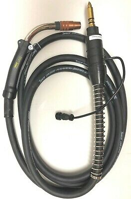 New V450 Tweco Spraymaster Mig Gun Smv415m116 450 Amps 15 Ft Miller Wire Feeder