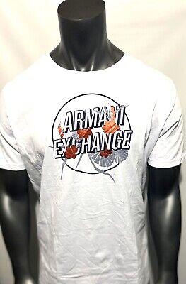 New Armani Exchange Mens T-SHIRT WITH CONTRASTING (Armani Exchange Boys)