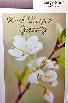 49 HALLMARK LARGE PRINT THANK YOU-SYMPATHY-ANNIVERSARY-GETWELL Greeting Cards](Large Thank You Cards)