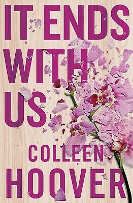 It Ends With Us by Colleen Hoover New Paperback Book