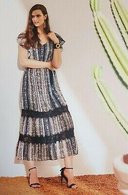 Langes Damen Kleid BARNABY Sommerkleid Abendkleid - Schlussverkauf -50% online kaufen