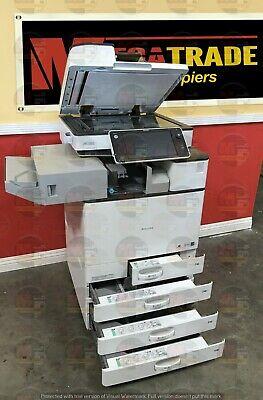 Ricoh Aficio Mp C3003 Color Mfp Laser Copier Printer Scanner A3 30 Ppm C6003
