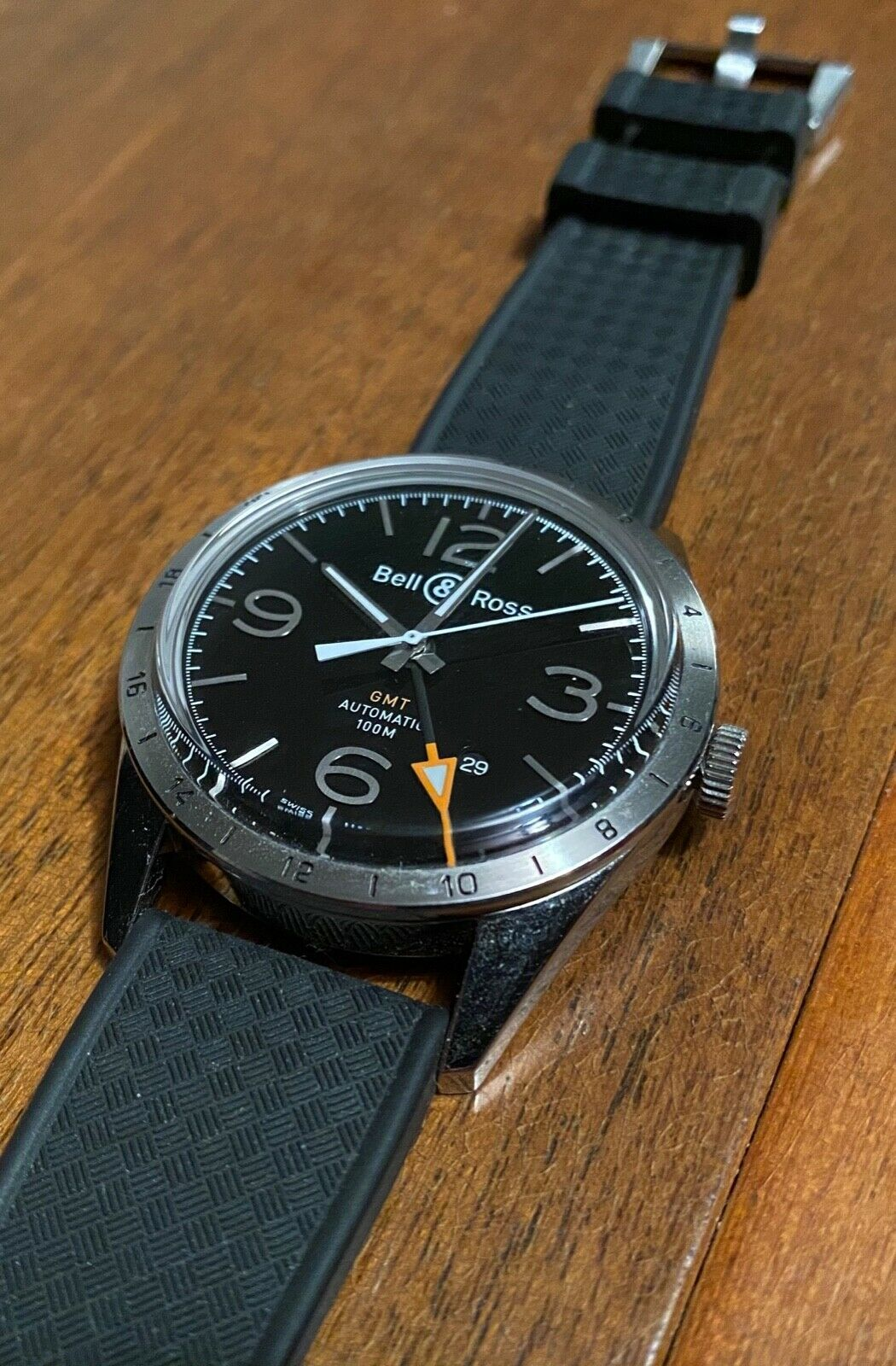 Bell & Ross BR 123 GMT 24H - watch picture 1