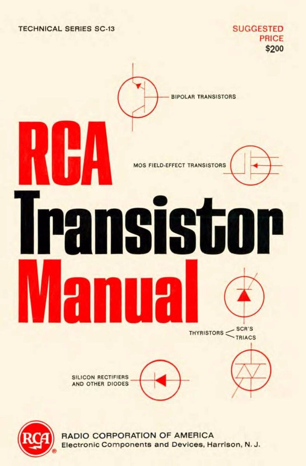 rca transistor manuals 5 manuals cdrom pdf. Black Bedroom Furniture Sets. Home Design Ideas