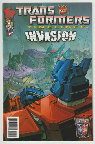 Transformers Timelines (2012) #7 - Invasion - Botcon - Fun Publications
