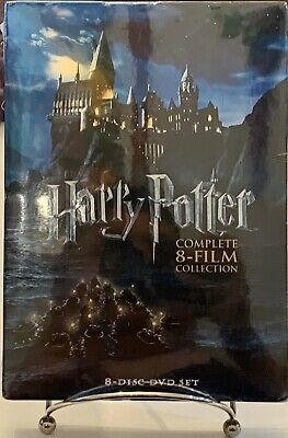 HARRY POTTER COMPLETE 8-FILM COLLECTION DVD BOX SET SEALED NEW!