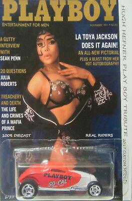 Car Toya (Hot Wheels CUSTOM SOOO FAST Playboy La Toya Jackson Real Riders 1/25)
