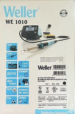 Weller We1010na 1-channel Soldering Station With Soldering Iron Safety Rest