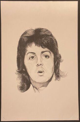 Set of 3 Beatles Prints Paul McCartney John Lennon George Harrison
