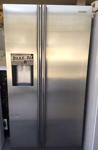 Samsung 611L S/S frost free ice make fridge as new condition Preston Darebin Area Preview