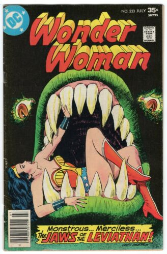 WONDER WOMAN #230 CHEETAH DC COMICS 1977 VG