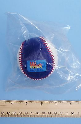 Wisk Detergent Baseball Promotional (2 Balls Mint In Sealed Plastic)](Plastic Balls In Bulk)