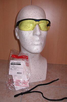 HONEYWELL Sport-Schiessbrille mit gelber Tönung, bruchfest, beschlagfrei & NEU
