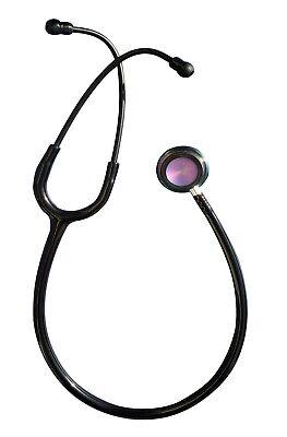 Classic Stethoscope Dual Head Rainbow Chest Piece Professional Nurses Students