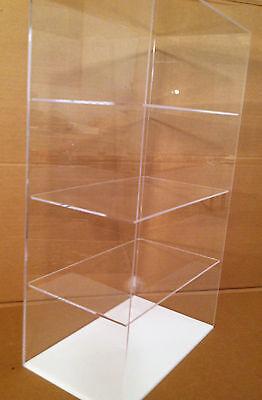 Usa- Acrylic Countertop Display Case 12x7x 20.5 Show Case No Door