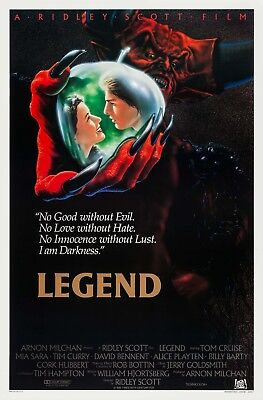 Legend  1985  Original Intl  Movie Poster     Rolled    Glossy    John Alvin Art