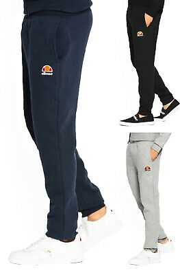 ellesse New Mens Darwin Jogging Bottoms Sweat Jog Pants Trousers Black Blue Grey