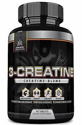 Athletic Mechanics - 3-Creatine - Blend of Three Types of Creatine