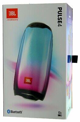 JBL Pulse 4 Waterproof Portable Bluetooth Speaker w/Light Show  Black *PULSE4BLK