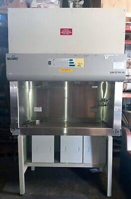 Nuaire Nu-440-400 Class Ii Type Ab3 Laminar Flow Bio Safety Cabinet Fume Hood