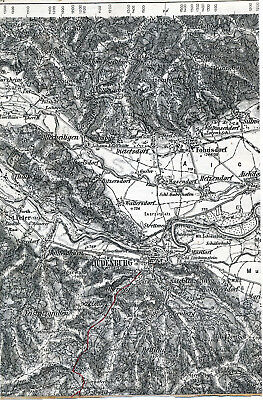 Judenburg Fohnsdorf Allerheiligen 1910 Teilkarte/Ln St-Peter Rothenthurm Murdorf