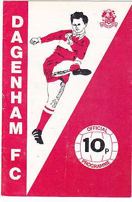 DAGENHAM V DARTFORD FA CUP 6/11/76